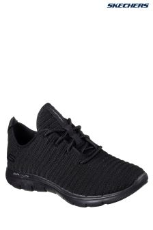 Skechers® Black Flex Appeal 2.0 Estates