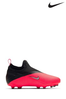 Nike Red Phantom Vision Academy FG Junior & Youth Football Boots