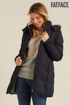 FatFace Blue Cumbria Padded Coat