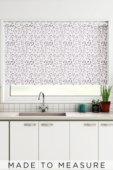 Sprig Mauve Purple Made To Measure Roller Blind
