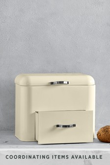 Cream Drawer Bread Bin
