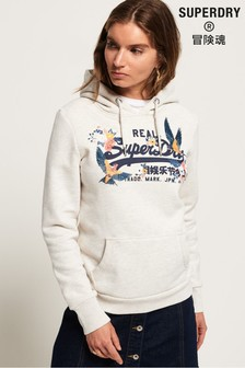 Superdry Vintage Logo Puff Embroidery Hoody