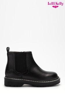 Lellli Kelly Black Chelsea Boots