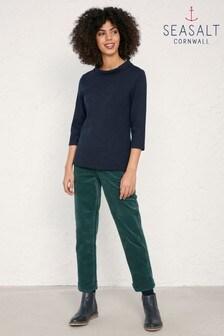 Seasalt Green Crackington Trousers