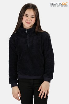 Regatta Blue Kessie Half Zip Fluffy Fleece