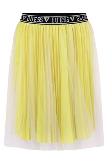 Girls Lime Skirt
