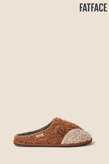 FatFace Orange Felix Fox Mules