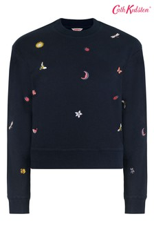 Cath Kidston® Magical Ditsy Cropped Sweat Top