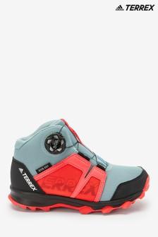 adidas Terrex Trial Grey/Pink Boa Mid Boots