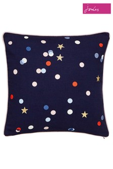 Joules Beau Spot And Star Cushion