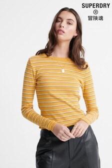 Superdry Retro Stripe Long Sleeved Top