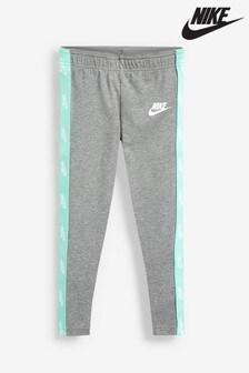 Nike Little Kids Grey Futura Leggings