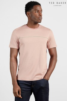 Ted Baker Ushers T-Shirt With Stripe