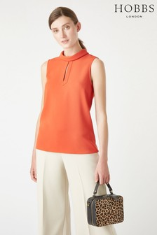 Hobbs Orange Remi Top