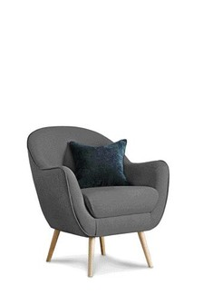 Shelby Armchair With Light Legs