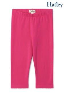 Hatley Pink Fuchsia Capri Leggings