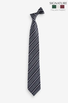 Stripe 'Made In Italy' Signature Silk Tie
