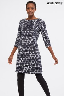 White Stuff Grey Marinda Fairtrade Dress