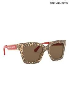 Michael Kors Leopard Berkshires Sunglasses