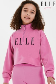 ELLE Oversize Quarter Zip Top