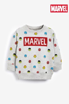 Marvel® Jersey Crew Neck Sweater (3mths-8yrs)