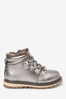 Warm Lined Hiker Boots (Younger)