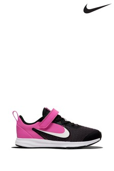 Nike Run Downshifter 9 Junior Velcro Trainers