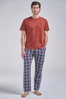 Check Woven Pyjama Set