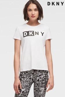 DKNY Two Tone Essential Logo T-Shirt