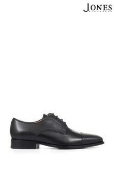 Jones Bootmaker Black Jonathan Leather Derby Shoes