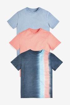 3 Pack Tie Dye T-Shirts (3-16yrs)