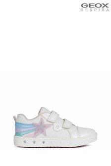 Geox Girl's Skylin White Shoes