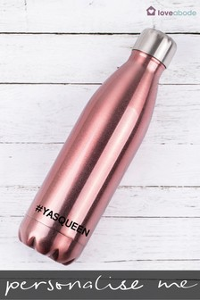 Personalised Yas Queen Water Bottle by Loveabode