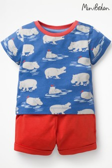 Boden Blue Fun Pocket Jersey Play Set