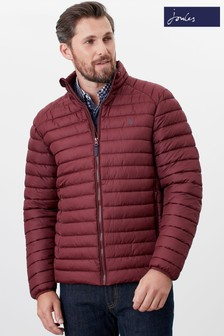 Joules Red Go To Padded Jacket