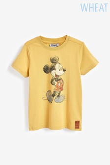 Wheat Yellow Retro Mickey Mouse™ T-Shirt