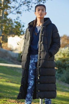 Longline Padded Jacket Made With Recycled Polyester