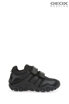4c542a0cd Geox Kid's Crush Black Shoe