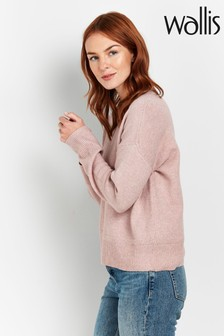 Wallis Pink Crew Neck Jumper