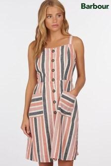 Barbour® Coastal Multi Stripe Cotton Mix Penfor Dress
