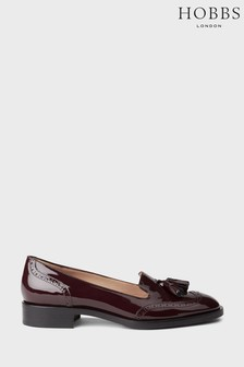Hobbs Red Bryony Loafers