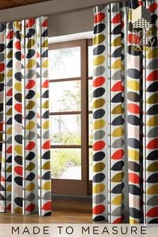 Multi Stem Made To Measure Curtains by Orla Kiely