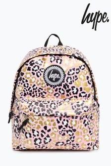 Hype. Glitter Leopard Backpack
