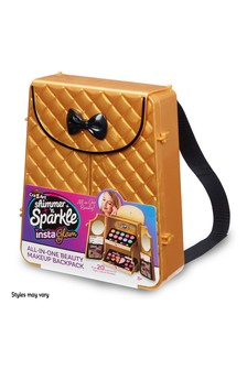 Shimmer 'N Sparkle Insta Glam All-In-One Beauty Make-Up Backpack
