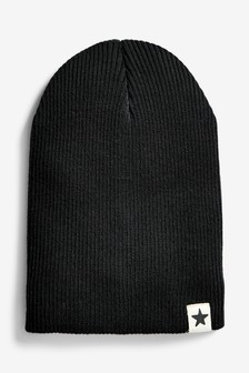 Rib Beanie Hat (Younger)