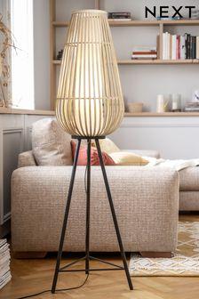 Natural Kita Tripod Floor Lamp