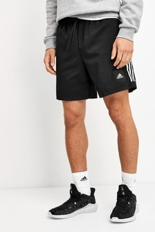 adidas Black Must Have 3 Stripe Shorts