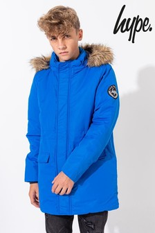 Hype. Kids Crest Sleeve Glacial Jacket