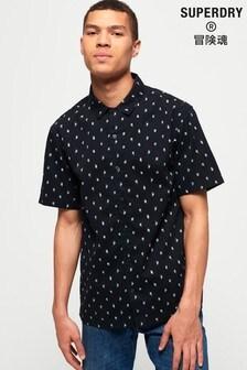 Superdry Havana Beach Short Sleeve Shirt