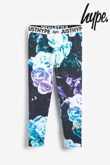 Hype. Rose Print Leggings